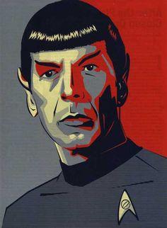 """Spock from """"Star Trek"""""""