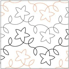 Star Light quilting pantograph pattern by Lorien Quilting