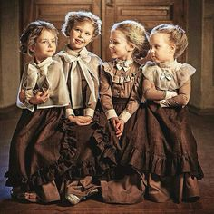 Children from the orphanage where Maria works. Girl Inspiration, Character Inspiration, Beautiful Children, Beautiful Babies, Steampunk Kids, Cheap Flower Girl Dresses, 1800s Fashion, Cute Young Girl, Theatre Costumes