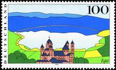 Deutschland 1996 - Eifel (Views from Germany) (Deutschland (BRD)) (Bilder aus Deutschland) Mi:DE 1852,Sn:DE 1807,Yt:DE 1685,Sg:DE 2709,AFA:DE 2793