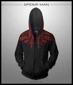 Spider-Man Hoodie by seventhirtytwo.deviantart.com on @deviantART