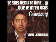 Serge Gainsbourg - Je suis venu te dire que je m'en vais