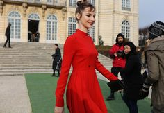 Louise Bourgoin in Dior