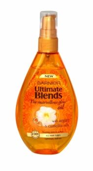 GARNIER ULTIMATE BLENDS THE MARVELLOUS GLOW OIL 150ML Hair Oil, Chemistry, Health And Beauty, Shampoo, Hair Care, Household, Conditioner, Glow, Fragrance