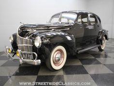 1940 Dodge Deluxe Four Door Sedan