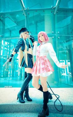 Vina Bishamon and Kofuku Ebisu from Noragami
