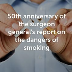 50 years ago U.S. Surgeon General Luther Terry released a report clearly linking tobacco use to disease and death, stating that smoking was associated with a 70% increase in mortality - Dr. Sanjay Gupta reports.