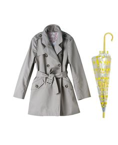 The Classic Trendiest Trench on www.littletrendsetter.com