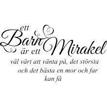 Ett barn är ett mirakel
