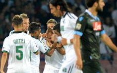 Il Napoli gioca male e il Sassuolo ne approfitta strappando un pareggio che vale oro #seriea #napoli #sassuolo