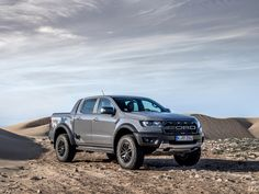 2019 European Ford Raptor Ranger pickup, as shown on July 4 2019 at the Goodwood Festival of Speed. Bi-turbo version of Ford's EcoBlue diesel engine that delivers 213 PS and 500 Nm of torque, and Ford's new automatic gearbox. Ranger Sport, Ranger 4x4, 2019 Ford Ranger, Ranger Truck, Ford Raptor, Ford Ranger Raptor, Diesel Cars, Diesel Engine, Diesel Trucks