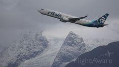 John Glenn, Alaska Airlines, Aviation Industry, Cloudy Day, Kansas City, San Diego