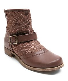 Loving this Brown Too Duke Ankle Boot on #zulily! #zulilyfinds