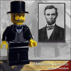 Celebridades en Lego  Lincoln