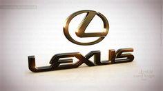 Lexus Black - Art 3D logo Design high quality, 4k