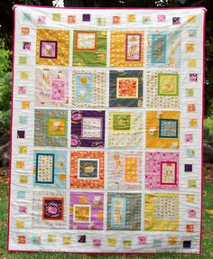 Kate Conklin Designs: Downloadable Patterns  Fun Pattern for Fussy Cuts!