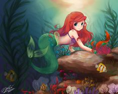 Under the Sea by ~TsukiPan on deviantART