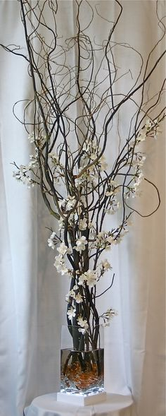 handmade floral with willow branches