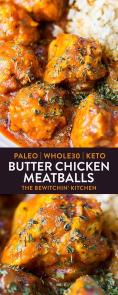 This paleo butter chicken recipe is a dairy free alternative to a comforting dinner. It's an easy way to add a keto recipe to your meal plan too!
