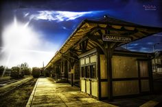 Quakertown Historical Railroad Station, a block away from my place