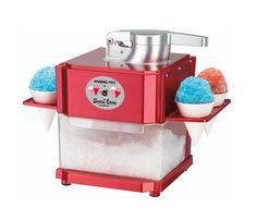 """A <a rel=""""nofollow"""" href=""""http://amzn.to/1UwRKQQ"""" target=""""_blank"""">snow cone machine</a> that will keep you feeling frosty all summer."""