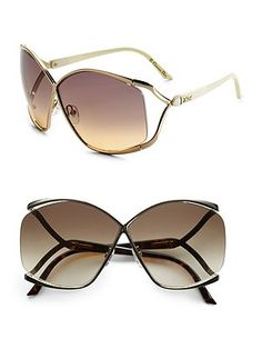 Christian Dior sunglasses-These ar beautiful. Cool Sunglasses, Sunglasses Outlet, Oakley Sunglasses, Sunnies, Christian Dior Sunglasses, Eye Glasses, Eyewear, Fashion Accessories, Shades