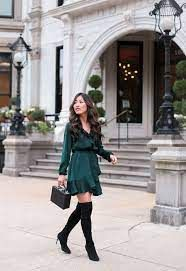 party dress outfits - Google Search Dinner Date Outfit Casual, Date Night Outfit Classy, Winter Date Night Outfits, Dressy Casual Outfits, Style Outfits, Dinner Outfits, Classy Outfits, Club Outfits, Winter Dresses