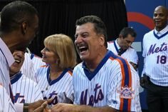 Keith Hernandez and Doc Gooden