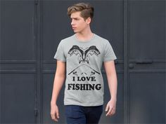 I LOVE FISHING SHIRT * Not available in stores, only in here!* Limited Edition, Available for a limited time!