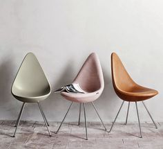 La silla Drop Chair de Arne Jacobsen vuelve a la vida // Arne Jacobsen's Drop Chair comes back to life