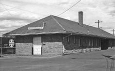 Great Northern depot at Moorhead, Minnesota