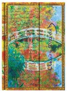 Paperblanks (Claude Monet, Bridge, Letter to Morisot)