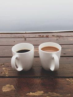GRATITUDE: my morning coffee with Kelly. we talk about the upcoming day, hold hands, reminisce... << so perfect :)