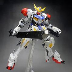 [WORK] FULL MECHANICS 1/100 GUNDAM BARBATOS LUPUS painted build: No.20 Big Size Images http://www.gunjap.net/site/?p=315809