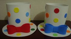 Circus Party Foods, Circus Party Decorations, Circus Theme Party, Carnival Birthday Parties, Circus Birthday, Clown Crafts, Carnival Crafts, Kids Crafts, Diy And Crafts