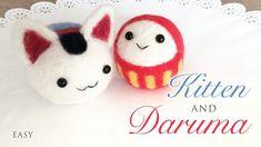 How To Needle Felt Daruma and Inu Hariko - Tutorial with Giveaway!