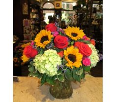 Summertime in the City in Princeton, Plainsboro, & Trenton NJ, Monday Morning Flower and Balloon Co.