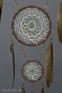 Dreamcatcher in forest colors