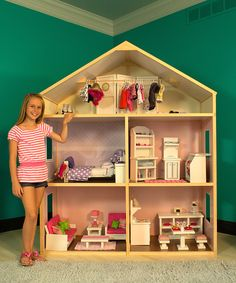 "Country French Doll House for 18"" American Girl Dolls"