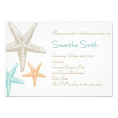 =>>Save on          	Modern Beach Starfish Bridal Shower Invitations           	Modern Beach Starfish Bridal Shower Invitations we are given they also recommend where is the best to buyDiscount Deals          	Modern Beach Starfish Bridal Shower Invitations lowest price Fast Shipping and save ...Cleck Hot Deals >>> http://www.zazzle.com/modern_beach_starfish_bridal_shower_invitations-161894705599910231?rf=238627982471231924&zbar=1&tc=terrest