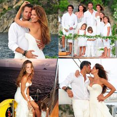 Brooke Burke Wedding to David Charvet in St. Barts Pictures