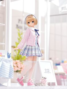 SAHRA'S a la mode:Pink!Pink! Blue×Pink by Azone International doll