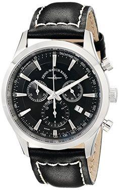 Bild ZENO HERREN 42MM CHRONOGRAPH SCHWARZ… Basel, Breitling, Chronograph, Omega Watch, Watches, Shopping, Money, Accessories, Tag Watches