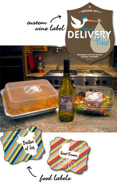 Welcome to the World Meal Idea for new parents