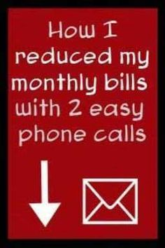 Tips to Lower Your Monthly Bills – I Lowered my bills with 2 easy calls