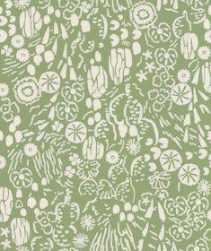 Atacama by Farrow & Ball - Green - Wallpaper : Wallpaper Direct Farrow Ball, Green Wallpaper, Tropical Design, Desert Plants, Scrap, True Colors, Delicate, Tapestry, Texture