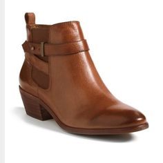 c9bcf3b2f Shop Women s Sam Edelman Brown size Ankle Boots   Booties at a discounted  price at Poshmark.