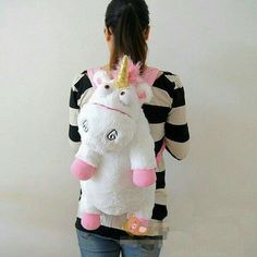 Despicable Me Unicorn Agnes Plush Backpack - off! Take home a Limited Edition Despicable Me Unicorn Agnes Plush Backpack We want you to have it off the original price! I Am A Unicorn, Magical Unicorn, Rainbow Unicorn, Unicorns And Mermaids, Despicable Me, Cool Backpacks, Unicorn Birthday, Plush, My Style