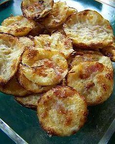 Mini quiches lorraines - sans pâte