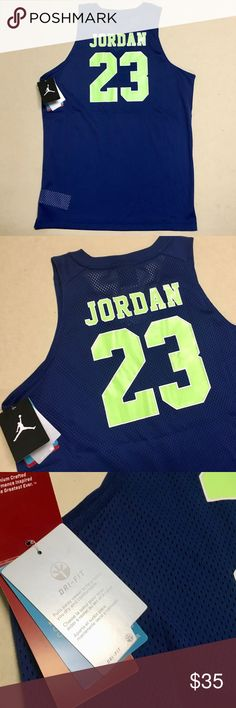 Jordan - New Youth DRI-FIT Basketball Jersey 🏀 Jordan Brand DRI-FIT Stay 9ef96aa2f